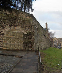 Flodden Wall Corner Drummond Street and Pleasance                                                         Pleasance