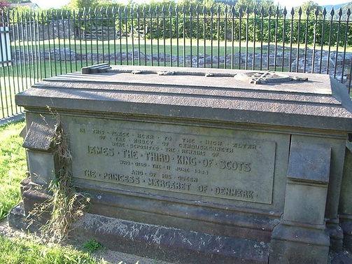 King's Tomb James III and Princess Marga