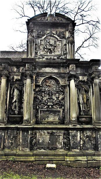 George Foulis Grave Stone Greyfriars Edinburgh