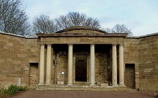 Pavillion in Amisfield Walled Garden Haddington East Lothian