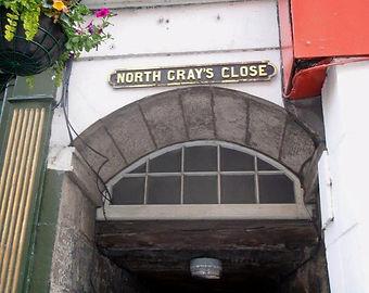 North Gray's Close High Street Edinburgh