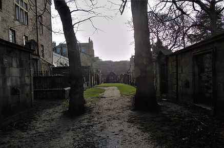 Covenanters Prison Grounds Greyfriars Kirk Graveyard Edinburgh