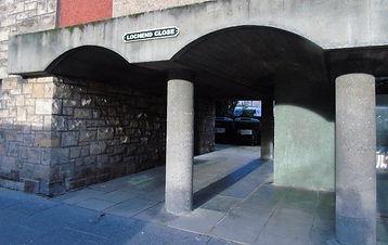 Lochend Close Canongate Royal Mile Edinb