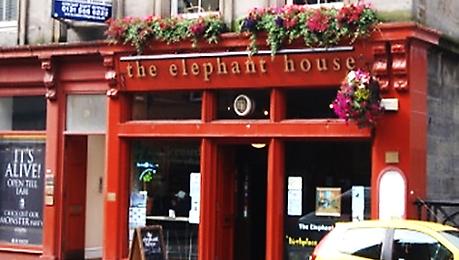 The Elephant House George IV Bridge Edinburgh