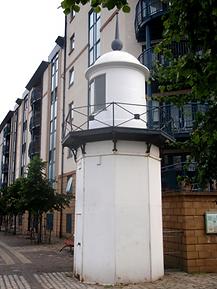 Ligthouse beacon The Shore Leith