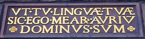 Huntly House Plaque Canongate Royal Mile