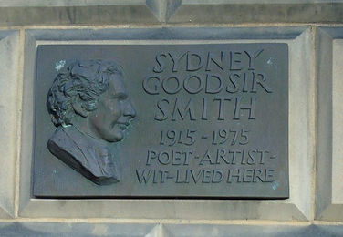 Sydney Goodsir Smith Plaque Broughton Ed