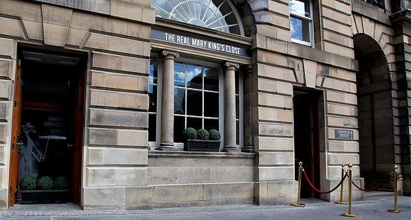 Real Mary King's Close High Street Royal Mile Edinburgh