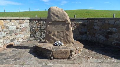 Battle of Dunbar 1650 Memorial.