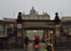 Edinburgh Waverley Rail Station
