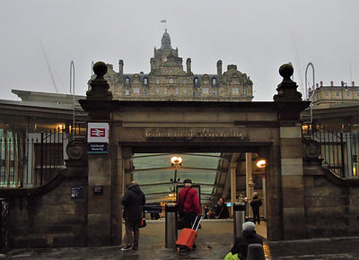 Edinburgh Waverley Rail Station