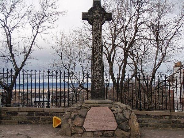 78th Highlanders Memorial Cross Edinburgh Castle Esplanade