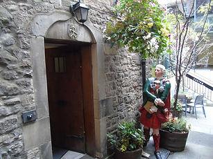 William Brodie's Close Door to House