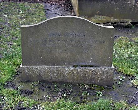Captain John Porteous Grave Stone Grayfriars Graveyard Edinburgh
