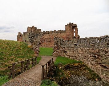 Tantallon Castle Drawbridge East Lothian