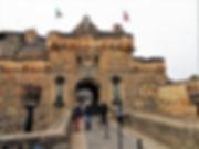 Edinburgh Castle Espalanade Drawbridge to Edinburgh Castle