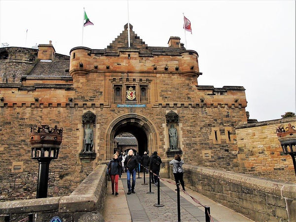 Edinburgh Castle Espalanade Drawbridge to Edinburgh Castle