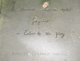 ROYAL MILE MAKARS' COURT ROBERT GARIOCH.