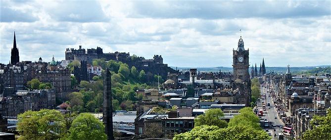 City Centre, Princes Street and Edinburgh Castle