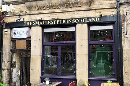 Grassmarket Smallest Pub in Scotland