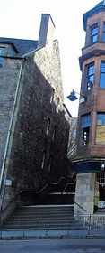 The Vennel West Port Gate Miss Jean Brodie Steps Vennel Grassmarket