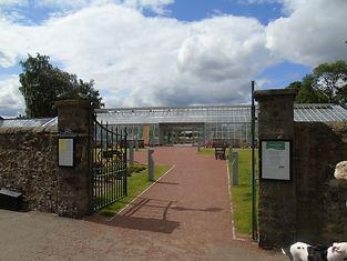 Saughton Park Rose Gardens Entrance Edin