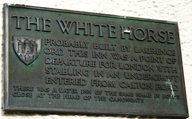 WHITE HORSE CLOSE ORD'S INN CANONGATE RO