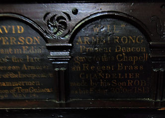 William Armstrong Brod Magdalen Chapel Cowgate Edinburgh