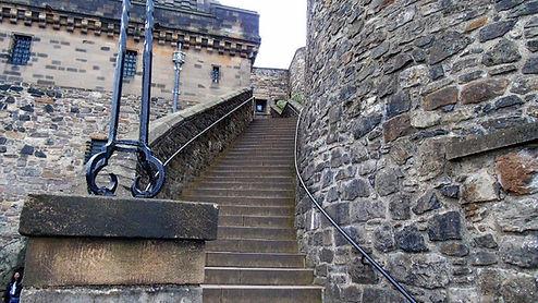 Lang Stairs Edinburgh Castle
