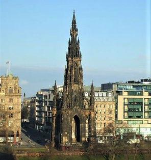 Edinburgh Attractions Scott Monument Memorial to  Sir Walter Sott