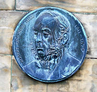 Robert Gardiner Hill Medallion Morningside Edinburgh