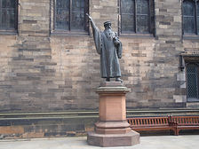 John Knox Statue New College Edinburgh