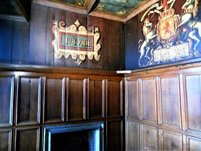 James VI Birth Room Royal Palace Crown Square Edinbugh Castle