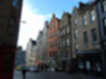 West Bow West side Down to Grassmarket Edinburgh