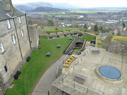 Stirling Castle French Spur