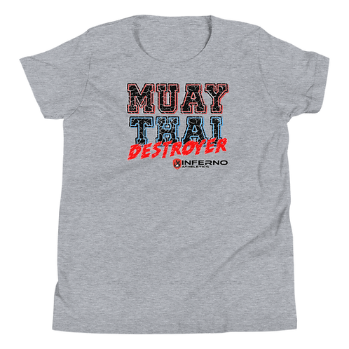 Muay Thai Destroyer Youth Short Sleeve T-Shirt