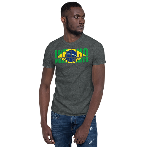 Brazilian Flag Short-Sleeve Unisex T-Shirt