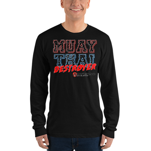 Muay Thai Destroyer Long sleeve tee