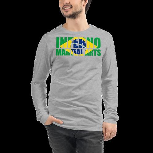 Brazilian Flag Unisex Long Sleeve Tee