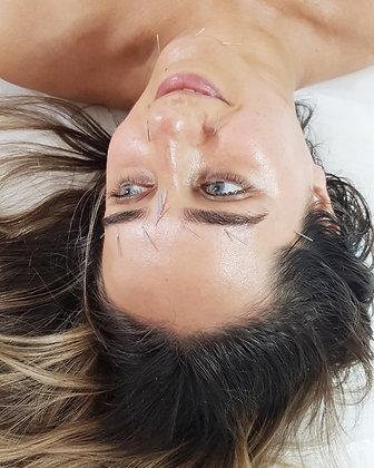 עיסוי ודיקור פנים אנטי אייג'ינג של לימא ארומתרפיה