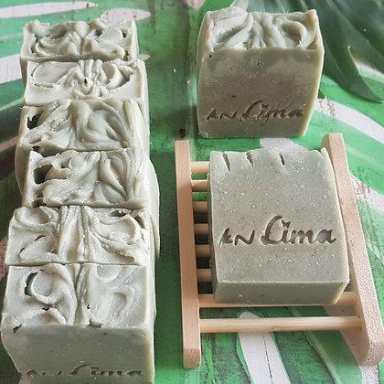 סבון רחצה מורינגה קרם קוקוס ושמן זית של לימא ארומתרפיה