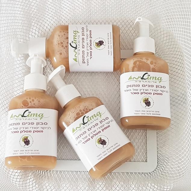סבון פנים מושלם לניקוי פנים והסרת איפור