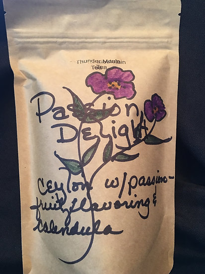 Passion Delight - Ceylon w/ Passion fruit flavoring and calendula
