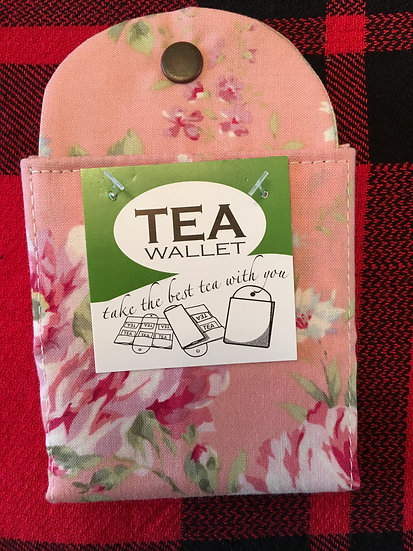 Rose Print Tea Wallets