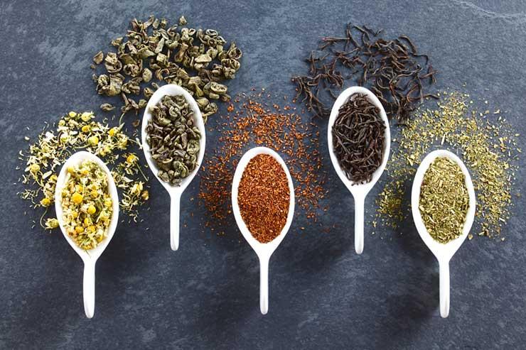 Tucson Tea Company Loose Leaf Tea Samples