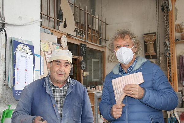 Rossano Munaretto e Livio Rossini flauto inmarmo di Candoglia