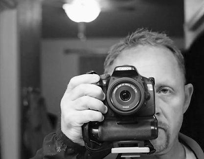 Arts & Entertainment developer Reid Martin Basso attempts a selfe.