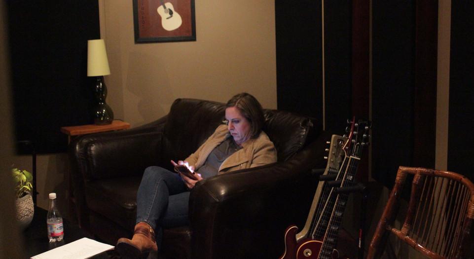 Wendy In Studio. 2016