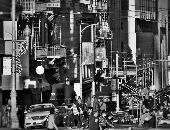 Busy San Francisco. 2015