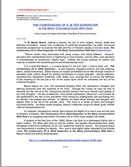 Page 1 of 3- Original Press Release JS